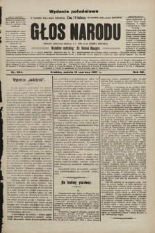 Głos Narodu : dziennik polityczny, założony w r. 1893 przez Józefa Rogosza (wydanie poranne). 1907, nr264