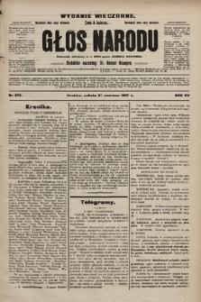 Głos Narodu : dziennik polityczny, założony w r. 1893 przez Józefa Rogosza (wydanie wieczorne). 1907, nr275