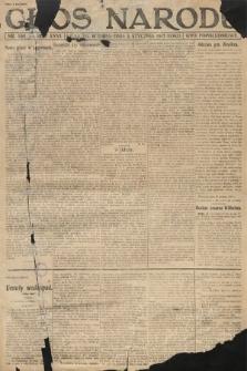 Głos Narodu (wydanie popołudniowe). 1917, nr598 [1]