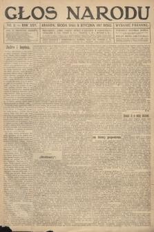 Głos Narodu (wydanie poranne). 1917, nr2