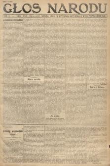 Głos Narodu (wydanie popołudniowe). 1917, nr3