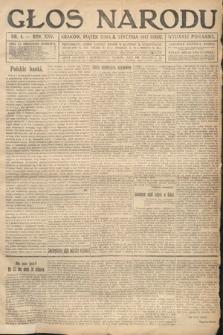 Głos Narodu (wydanie poranne). 1917, nr4