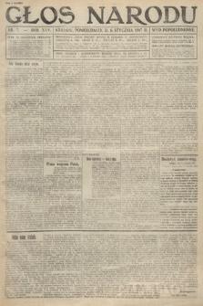 Głos Narodu (wydanie popołudniowe). 1917, nr7