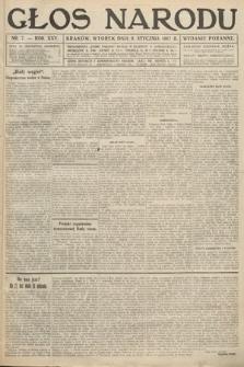 Głos Narodu (wydanie poranne). 1917, nr7