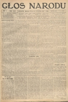 Głos Narodu (wydanie poranne). 1917, nr8