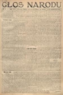 Głos Narodu (wydanie popołudniowe). 1917, nr9