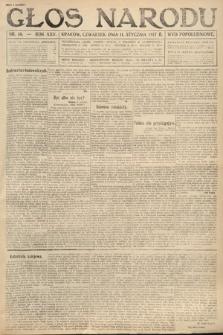 Głos Narodu (wydanie popołudniowe). 1917, nr10
