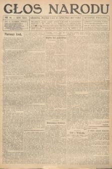 Głos Narodu (wydanie poranne). 1917, nr10