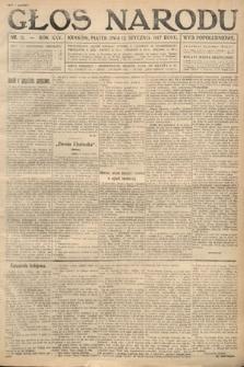 Głos Narodu (wydanie popołudniowe). 1917, nr11
