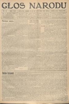 Głos Narodu (wydanie poranne). 1917, nr14