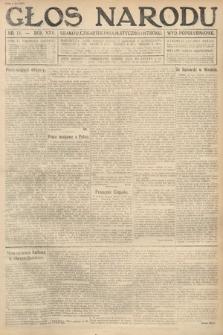 Głos Narodu (wydanie popołudniowe). 1917, nr16