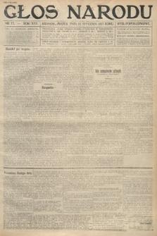 Głos Narodu (wydanie popołudniowe). 1917, nr17