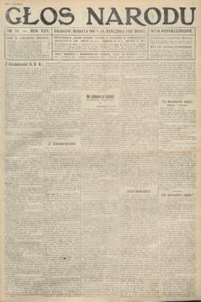 Głos Narodu (wydanie popołudniowe). 1917, nr18