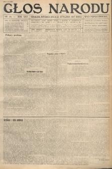 Głos Narodu (wydanie popołudniowe). 1917, nr20
