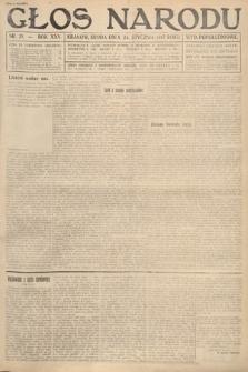 Głos Narodu (wydanie popołudniowe). 1917, nr21