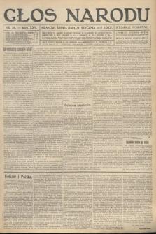 Głos Narodu (wydanie poranne). 1917, nr26