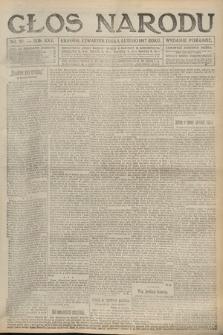 Głos Narodu (wydanie poranne). 1917, nr27
