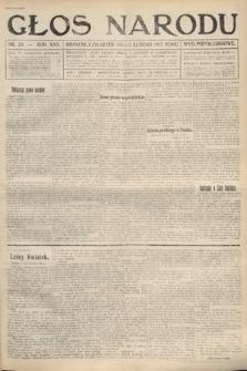 Głos Narodu (wydanie popołudniowe). 1917, nr28