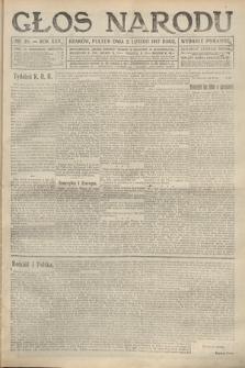 Głos Narodu (wydanie poranne). 1917, nr28