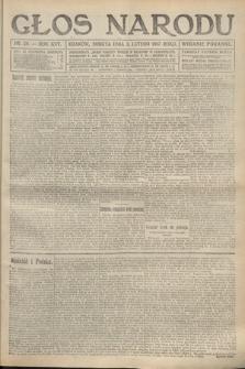 Głos Narodu (wydanie poranne). 1917, nr29