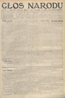 Głos Narodu (wydanie popołudniowe). 1917, nr29