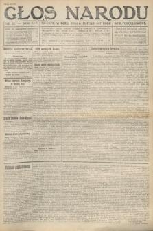 Głos Narodu (wydanie popołudniowe). 1917, nr32