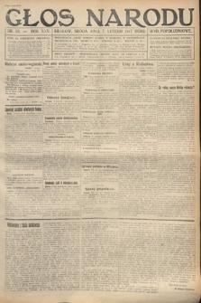 Głos Narodu (wydanie popołudniowe). 1917, nr33