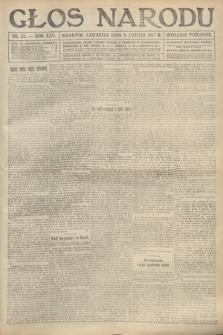 Głos Narodu (wydanie poranne). 1917, nr33