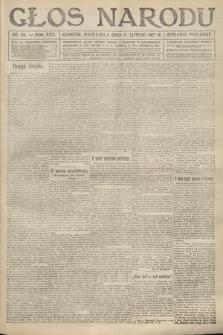Głos Narodu (wydanie popołudniowe). 1917, nr36
