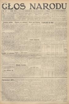 Głos Narodu (wydanie popołudniowe). 1917, nr40