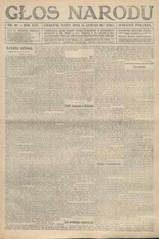 Głos Narodu (wydanie poranne). 1917, nr40