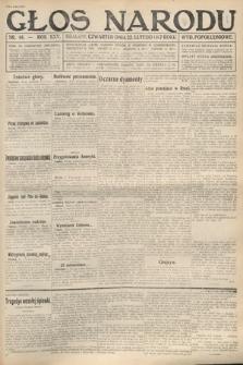 Głos Narodu (wydanie popołudniowe). 1917, nr46