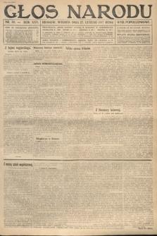 Głos Narodu (wydanie popołudniowe). 1917, nr50