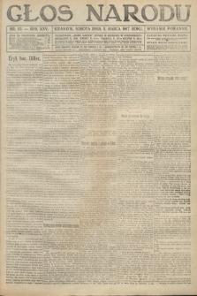Głos Narodu (wydanie poranne). 1917, nr53