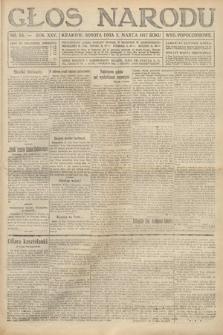 Głos Narodu (wydanie popołudniowe). 1917, nr54