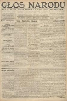Głos Narodu (wydanie popołudniowe). 1917, nr55