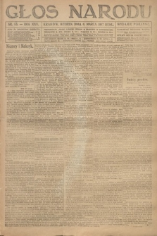 Głos Narodu (wydanie poranne). 1917, nr55