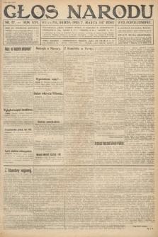 Głos Narodu (wydanie popołudniowe). 1917, nr57