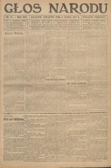 Głos Narodu (wydanie poranne). 1917, nr57