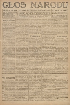 Głos Narodu (wydanie poranne). 1917, nr58