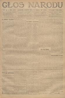Głos Narodu (wydanie poranne). 1917, nr59