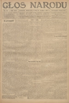 Głos Narodu (wydanie poranne). 1917, nr60