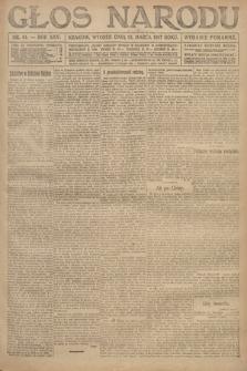 Głos Narodu (wydanie poranne). 1917, nr61