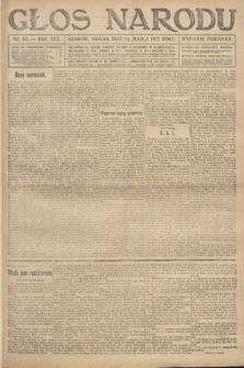 Głos Narodu (wydanie poranne). 1917, nr62