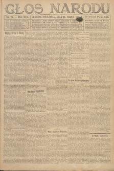 Głos Narodu (wydanie poranne). 1917, nr72