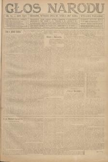 Głos Narodu (wydanie poranne). 1917, nr73