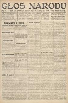 Głos Narodu (wydanie popołudniowe). 1917, nr75