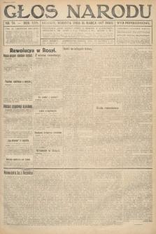 Głos Narodu (wydanie popołudniowe). 1917, nr78