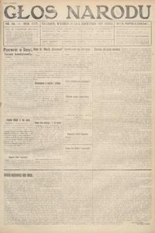 Głos Narodu (wydanie popołudniowe). 1917, nr80