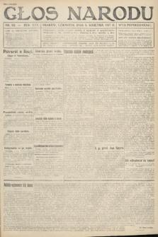 Głos Narodu (wydanie popołudniowe). 1917, nr82